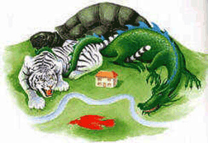 feng shui gods four animals