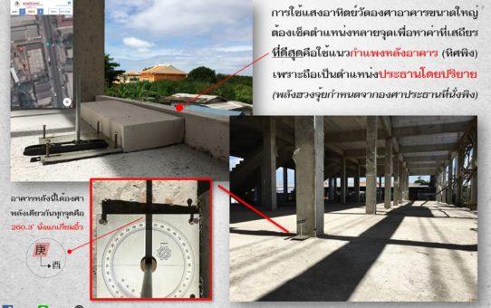 บ้านที่มีดาวป่วย (2) + ลาภวิบัติ (5) อยู่ในพื้นที่เดียวกัน ต้องระวังไม่ให้เป็นตำแหน่งเคลื่อนไหว
